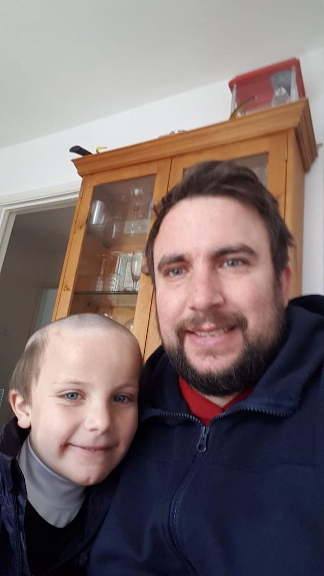 Child Left With Hilarious Lockdown Haircut After Asking Brother For Old Man Hair