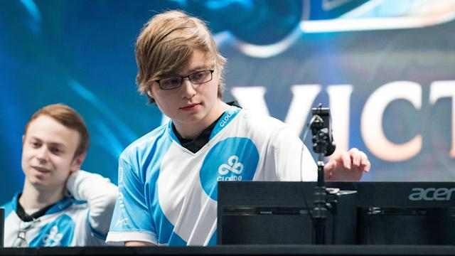 Even North America's Cloud9 Sneaky got in on the world record-setting action (Jeremy Wacker)