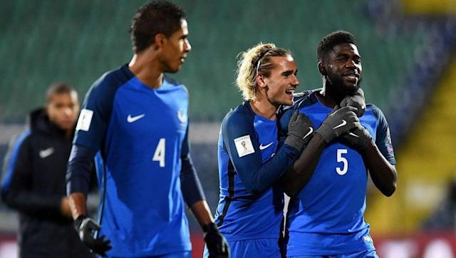 <p>Umtiti and Raphael Varane appear to be the future of French football's defensive solidity, and deservedly so. Both players have become crucial for their club sides and will no doubt go on to win a hatful of trophies throughout their careers. </p> <br><p>United have been linked with a move for Varane for a number of years now, and they may still choose to target him instead of Umtiti. However, and deal for Varane will more than likely see star keeper David De Gea move in the other direction. </p> <br><p>The Spaniard has been United's best player for the past few years, so losing him would be a big blow. Umtiti is arguably just as good as Varane, and a deal for the 23-year-old would give United a greater chance of keeping De Gea. </p>