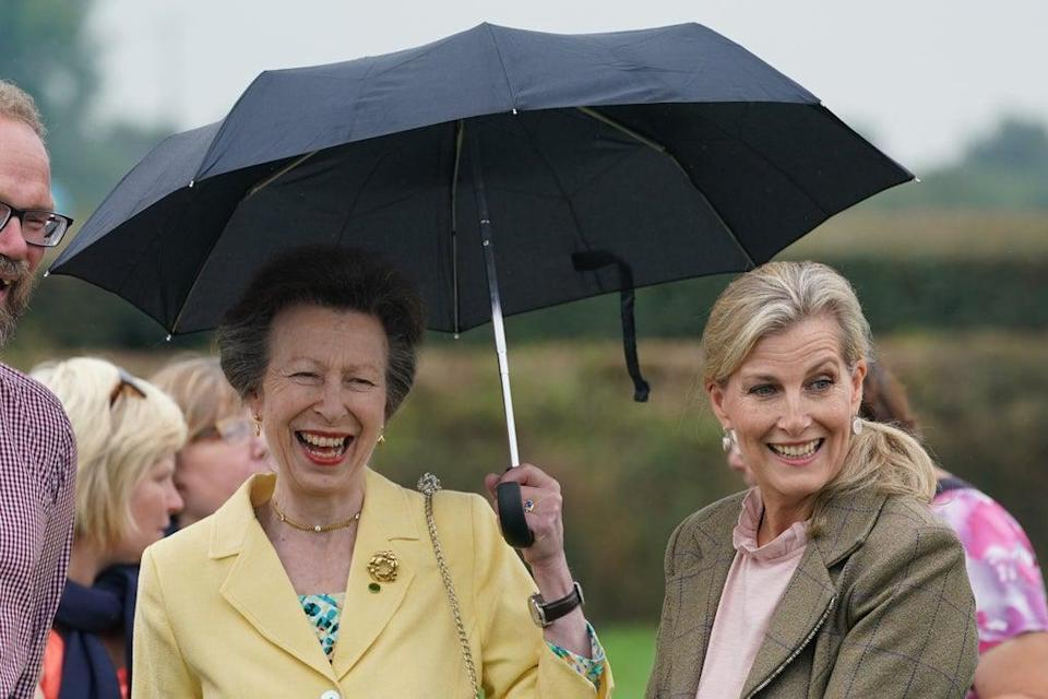 The Princess Royal (left) and the Countess of Wessex (Owen Humphreys/PA) (PA Wire)