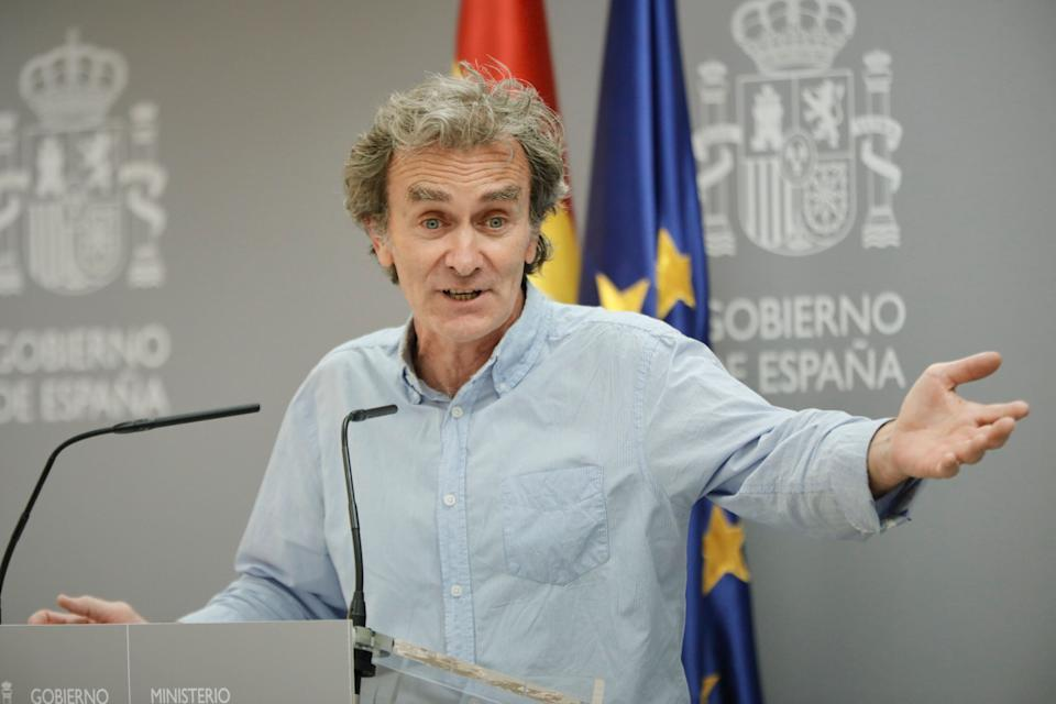Fernando Simón, en el Ministerio de Sanidad. (Photo: Europa Press News via Getty Images)