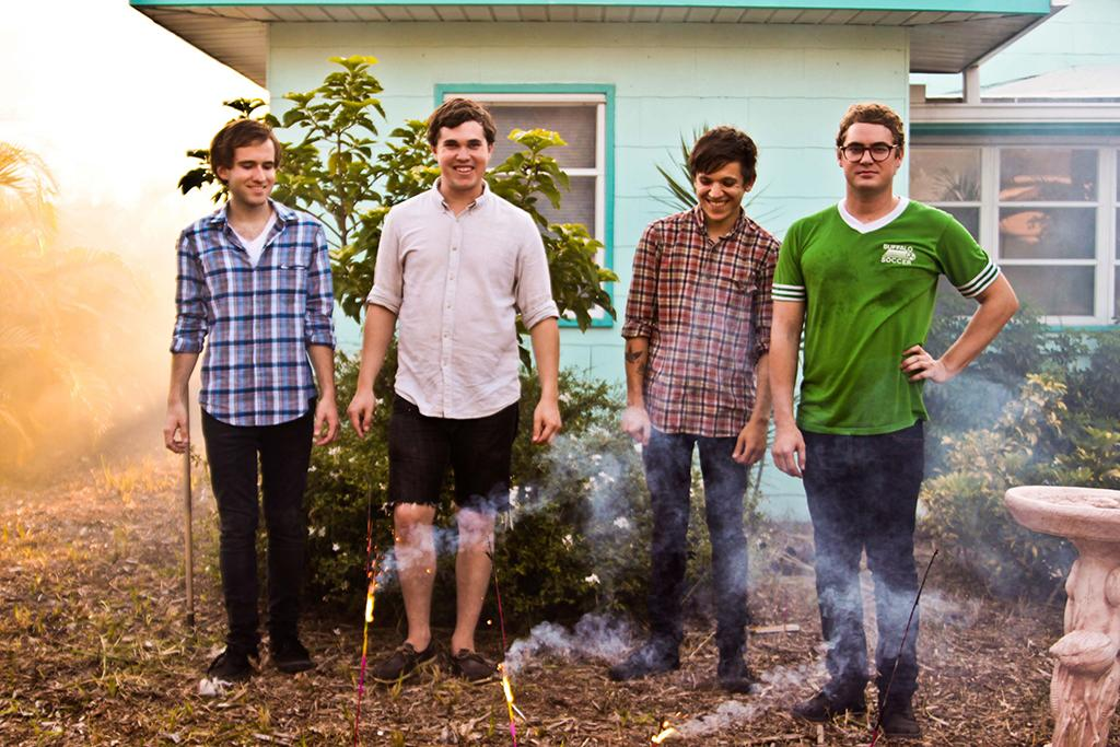 Members of Surfer Blood (courtesy of Warner Bros. Records)