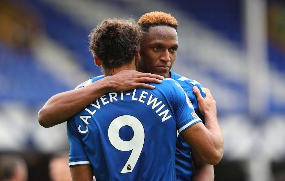 Dominic Calvert-Lewin has been in good form for Everton (Getty Images)
