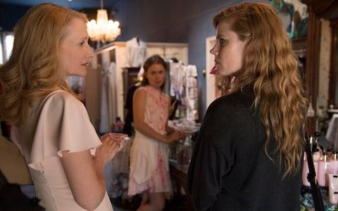 Patricia Clarkson and Amy Adams - Credit: HBO
