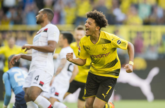 Is a call coming? Jadon Sancho has done well in Dortmund