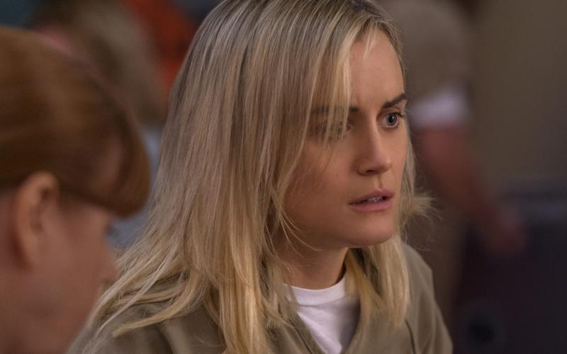 Taylor Schilling in Orange is the New Black - Netflix
