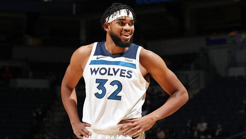 Warriors eyeing Karl-Anthony Towns amid rumors of unhappiness?