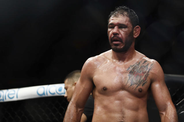 Antonio Rogerio Nogueira was cleared of an anti-doping violation Monday by USADA and is immediately eligible to fight. (Getty Images)