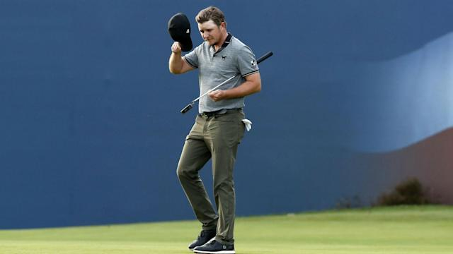 Eddie Pepperell is still the man to catch at the British Masters in his homeland after maintaining his three-shot advantage in round three.
