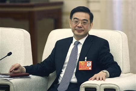Zhou, President of China's Supreme People's Court, attends National People's Congress in Beijing