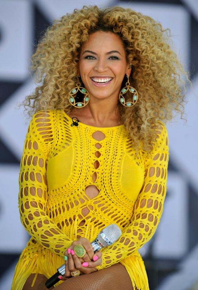 """<p>When the singer performed on """"Good Morning America"""" in 2011, her voluminous curls stole the show.</p>"""