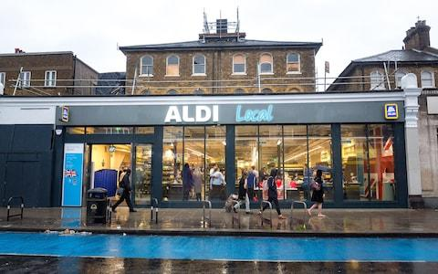 <span>Aldi could open up to 250 stores in and around London by 2025</span> <span>Credit: Joel Chant </span>