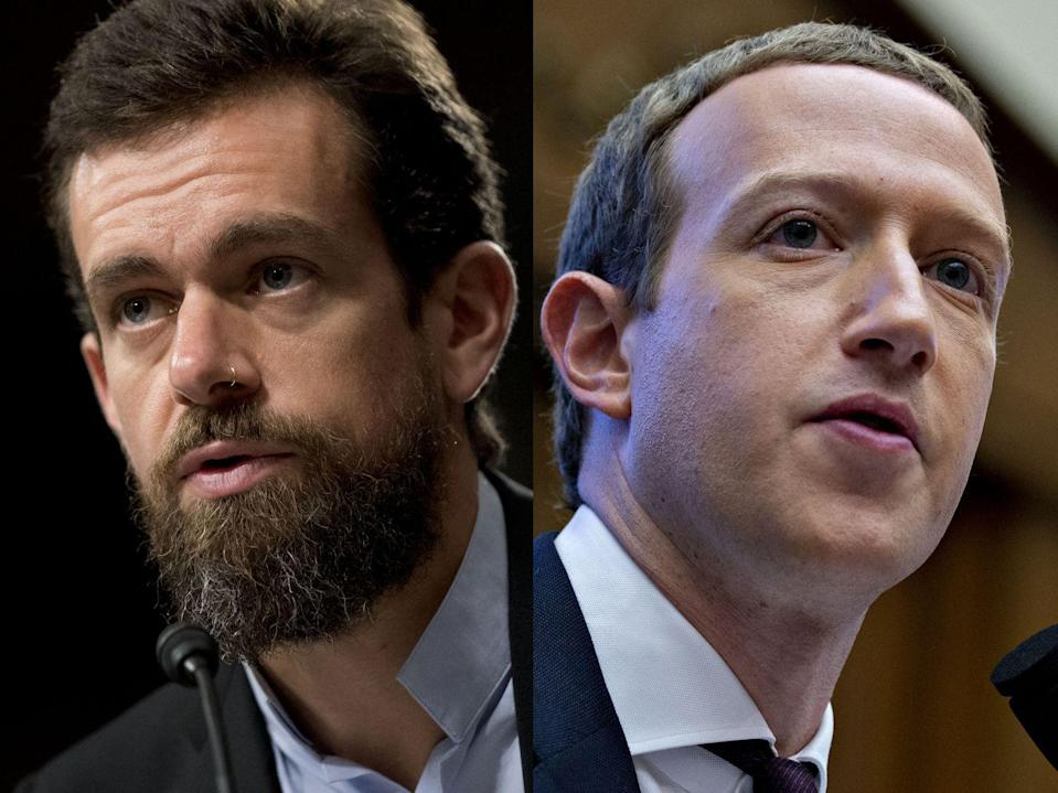 Facebook, Twitter Chiefs to Testify Before Senate on Nov. 17