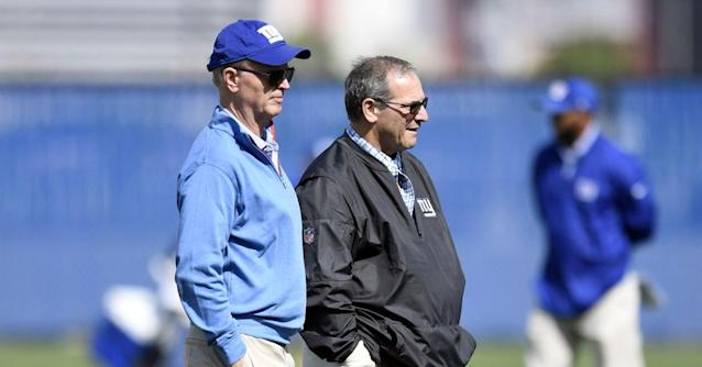 Will we hear from the Giants' brass this week?