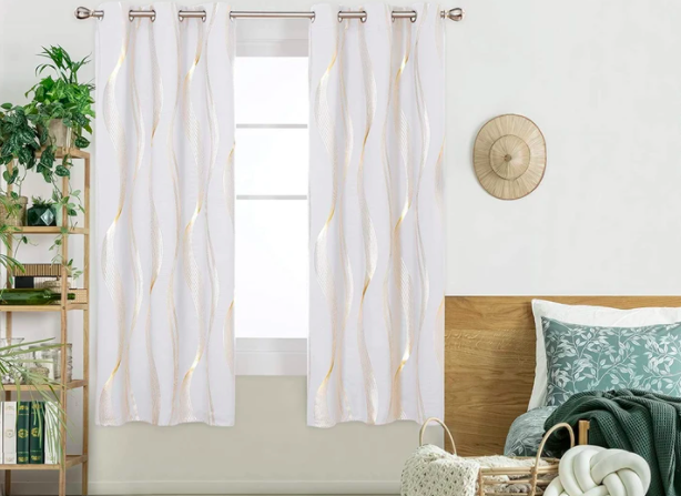 Score these gorgeous curtains at a heavy discount. (Photo: Amazon)