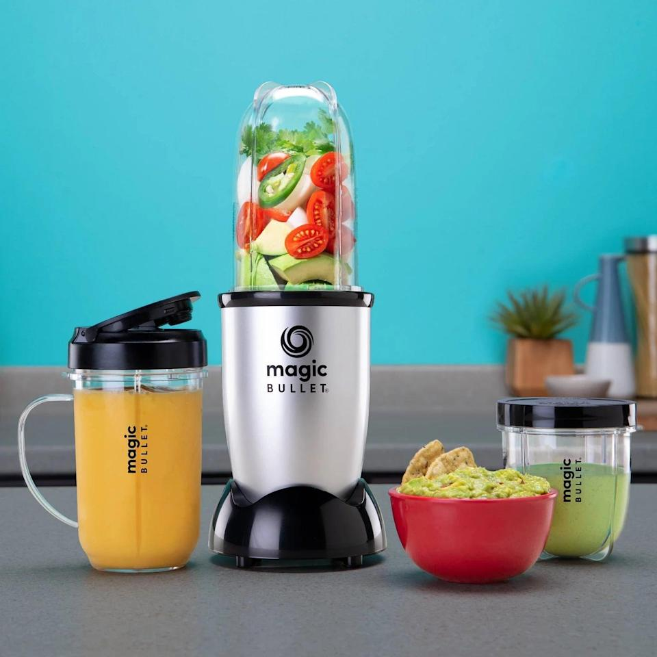 <p>Whether their in a dorm or an apartment, the <span>Magic Bullet Personal Blender</span> ($40) will be so useful! They can create fresh smoothies and more right from their room!</p>
