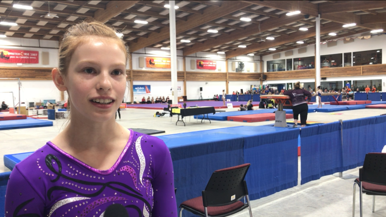Whitehorse gymnastics club hosts its first competition