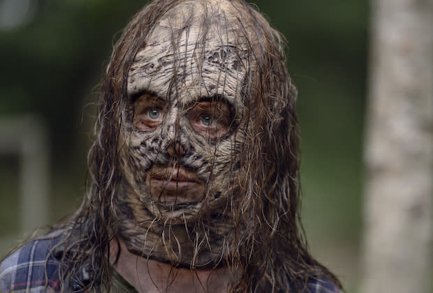 The Walking Dead Season 10 First Look Thora Birch Unmasked