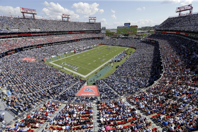 Nashville is the home of the Tennessee Titans. (AP)