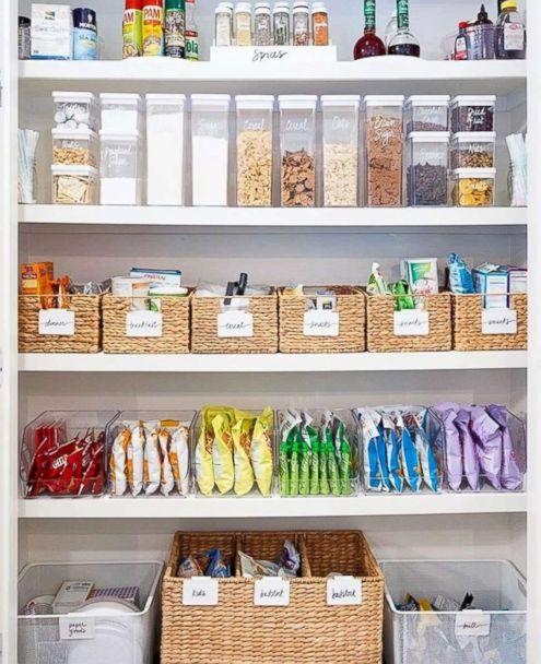 PHOTO: A pantry organized by The Home Edit founders is pictured. (@thehomeedit)