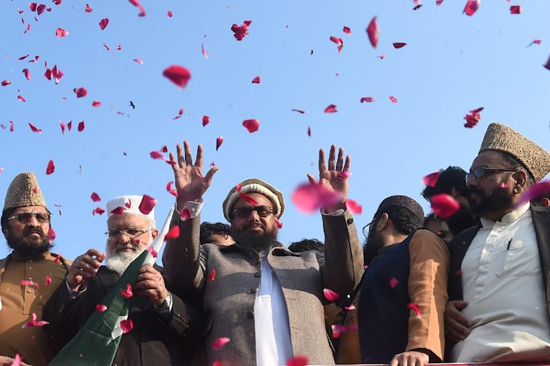 JuD and FIF are considered by the UN to be fronts for the militant group Lashkar-e-Taiba, accused by Washington and New Delhi of carrying out the deadly 2008 Mumbai terror attack