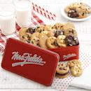 <p>Does he have a sweet tooth? He'll tear into these <span>Mrs. Fields 30 Nibbler-Bite Size Cookies</span> ($36). </p>