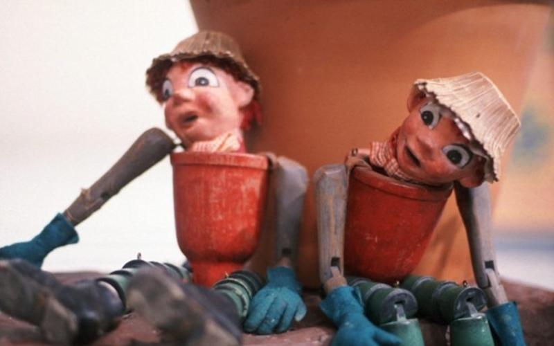 Bill and Ben The Flowerpot Men, in the 1960s - Credit: BBC