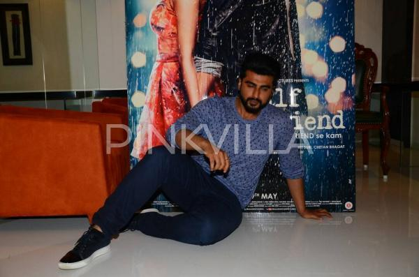 Arjun Kapoor is a happy and chirpy man, find out why?