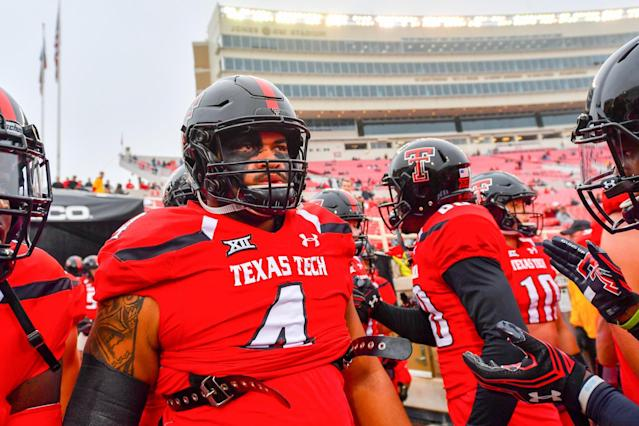 <p><strong>48. Texas Tech</strong><br>Top 2017-18 sport: baseball. Trajectory: Up. After plummeting to 65th last year, the Red Raiders had a that's-more-like-it jump to 41st — the same basic neighborhood they occupied in 2014-15 and '15-16. Tech has become a baseball power within the last five years, and got a huge boost this year from men's basketball. </p>