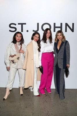 Jeanne Grey, Wendy Nguyen, Zoe Turner and Pam Hetlinger at the St. John Event on November 6th in New York City
