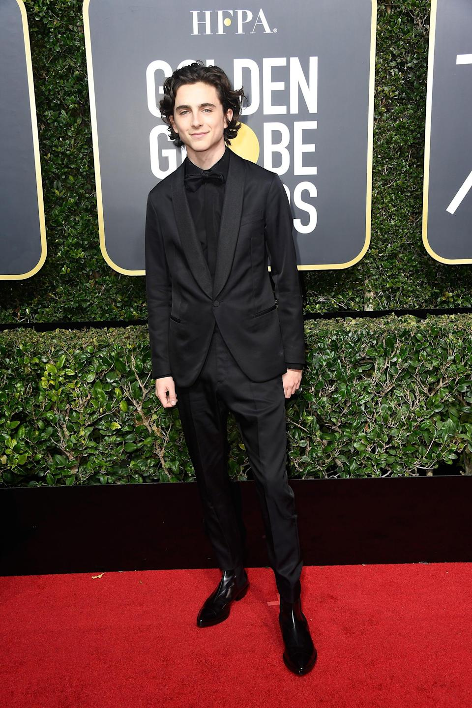 "<h2>Berluti</h2>No one does an all black tux quite like this guy. <span class=""copyright"">Photo: Frazer Harrison/Getty Images.</span>"