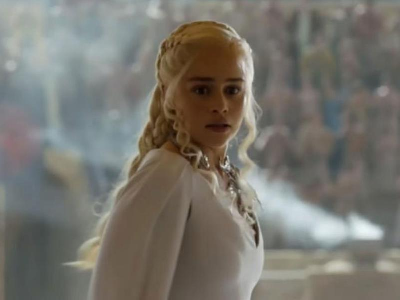 Emilia Clarke replaced Tamzin Merchant as Daenerys in 'Game of Thrones'