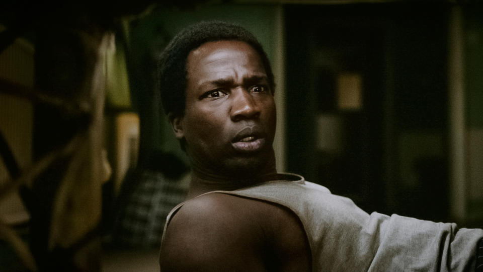 Ṣọpẹ Dìrísù as Bol Majur in Netflix horror 'His House'. (Credit: Aidan Monaghan/Netflix)