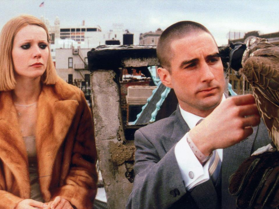 Gwyneth Paltrow and Luke Wilson in 'The Royal Tenenbaums', which Anderson said had hundreds of different setsJames Hamilton/Touchstone/Kobal/Shutterstock