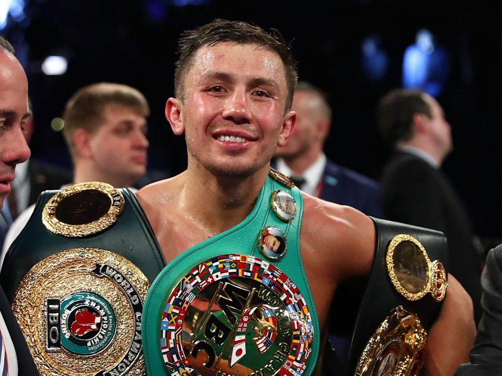 Gennady Golovkin beat Daniel Jacobs at Madison Square Garden: Getty