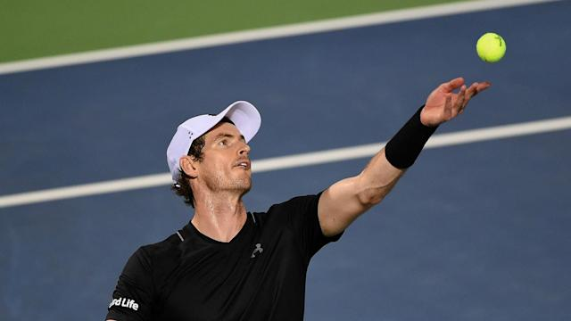 His elbow is still causing him trouble, but world number one Andy Murray is nearing a return.