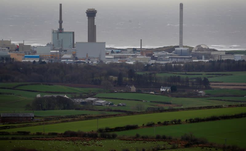 FILE PHOTO: A general view shows the Sellafield nuclear plant near Whitehaven in Britain