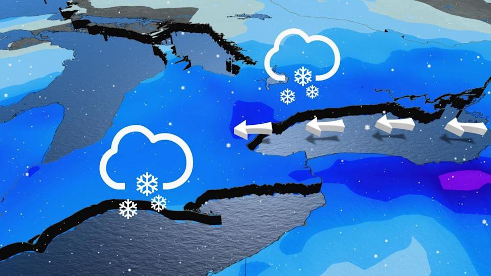 Poor travel expected in the GTA Tuesday with 10+ cm of snow possible