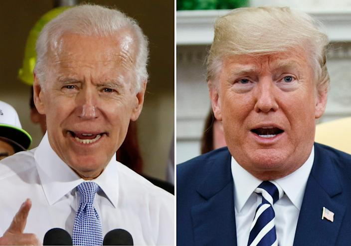 Former Vice President Joe Biden has increased his lead over President Donald Trump in a new poll.
