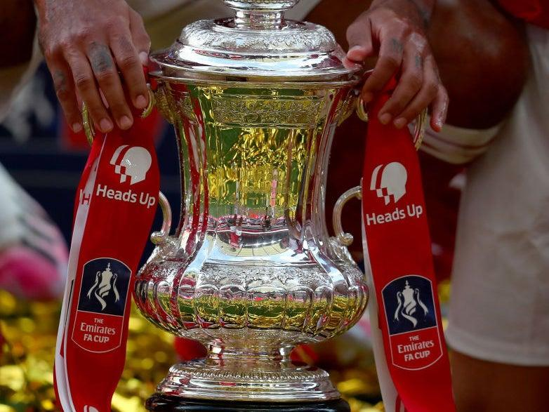 A general view of the FA Cup (Getty Images)