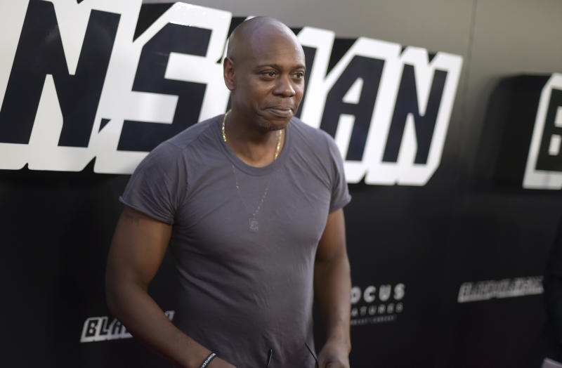 Chappelle said now was the worst time to be a celebrity (AP)