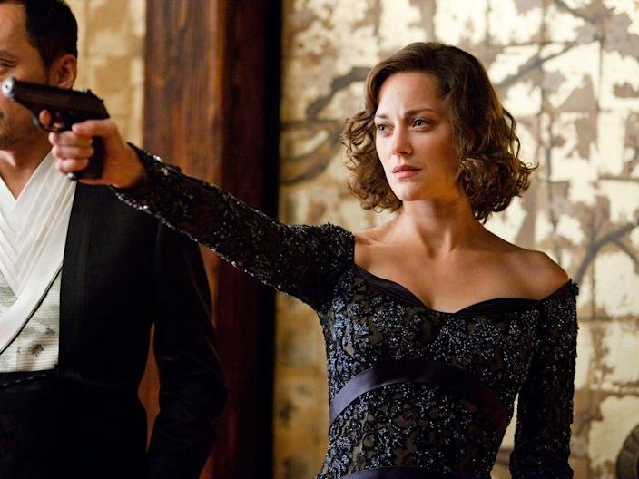 """Marion Cotillard landed the role as Mal in """"Inception."""""""