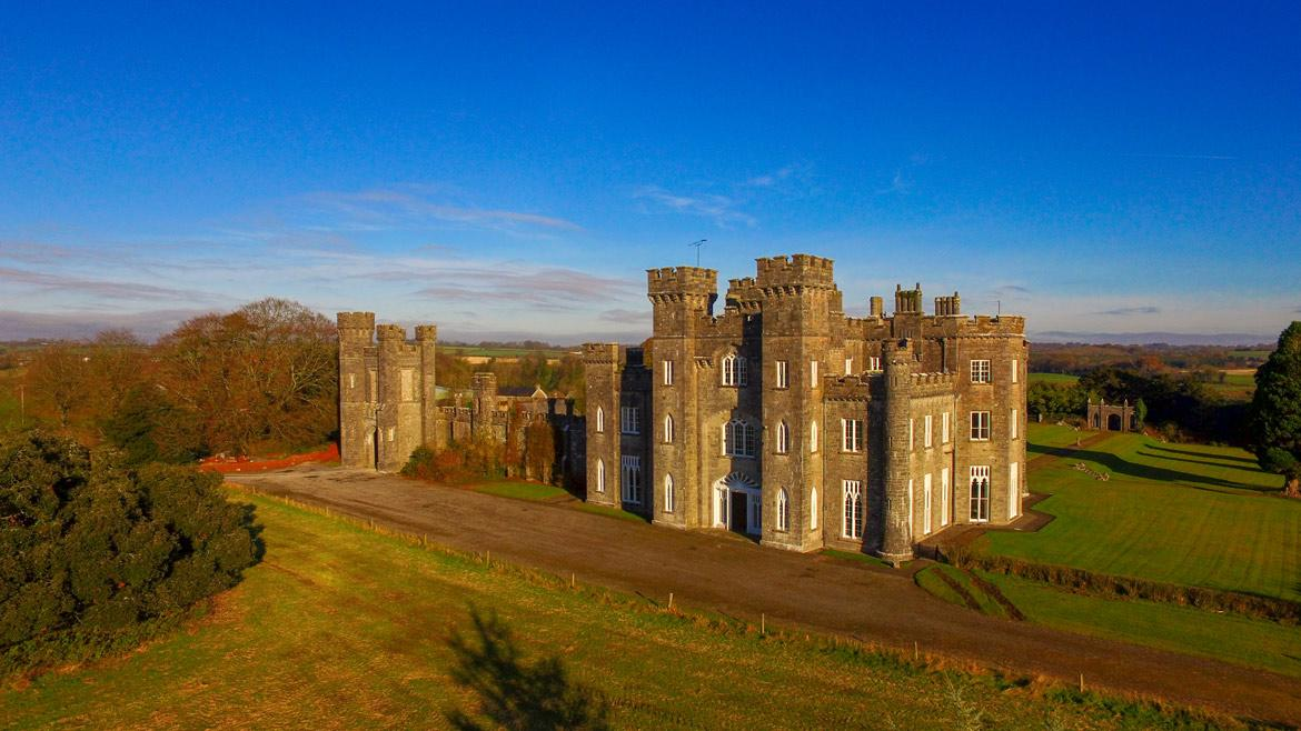 <p>Knockdrin Castle is a magnificent example of a Gothic Revival castle, one of the finest castellated country houses built in Ireland during the first half of the 19th century. (LeadingEstates.com) </p>