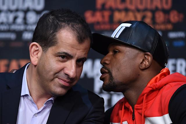 Showtime's Stephen Espinoza: Mayweather deal a resounding success