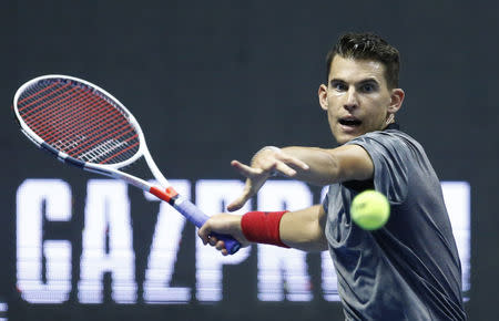 Thiem's Vienna Open run ended by Nishikori