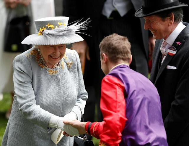 Royal Ascot will produce some memorable racing for Queen Elizabeth II and others unable to attend due to the coronavirus pandemic to watch from home and AFP Sport picks out three likely highlights (AFP Photo/Adrian DENNIS)