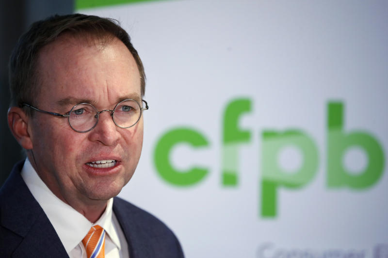 Judge sides with Trump's pick to take over consumer agency