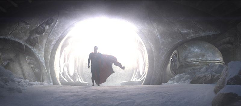 Superman and his computer-generated cape