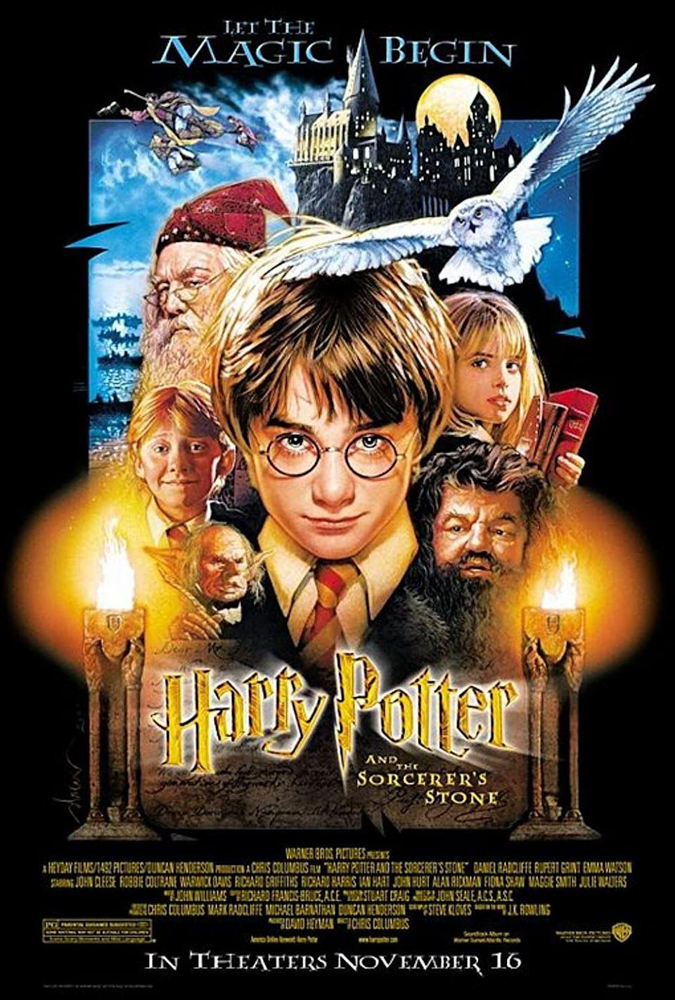 """<p><a class=""""link rapid-noclick-resp"""" href=""""https://go.redirectingat.com?id=74968X1596630&url=https%3A%2F%2Fwww.hbomax.com%2Fharrypotter20%3Fgclid%3DCjwKCAjw4qCKBhAVEiwAkTYsPHVBpXeMkJ8AOyiRWjDF-8yp5kjjJaIwZNWJqxscDRk-FNQCXBkO9BoCGb8QAvD_BwE%26gclsrc%3Daw.ds&sref=https%3A%2F%2Fwww.womansday.com%2Flife%2Fentertainment%2Fg37644376%2Ffall-movies%2F"""" rel=""""nofollow noopener"""" target=""""_blank"""" data-ylk=""""slk:STREAM NOW"""">STREAM NOW</a></p><p>The <em>Harry Potter </em>films have that magical spookiness that just goes hand-in-hand with Halloween, making all of them fun to watch in the colder months. Start your eight-film marathon today.</p>"""