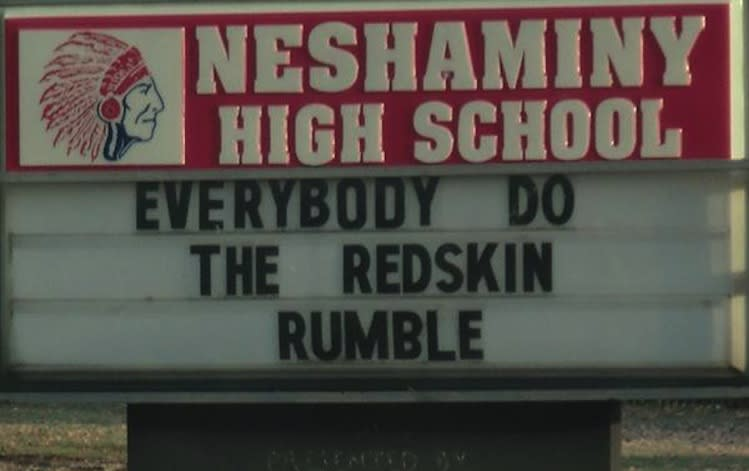 Neshaminy High is one of two Pennsylvania high schools still using the Redskins mascot -- TulalipNews.com